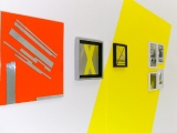Bestes Orange // Spiegelmosaik auf Acrylglas / 50 x 50 cm/ 2010