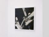 Architektonik // Collage / Autolack auf Photopapier / Aluminium Tape / 50 x 50 cm/ 2010