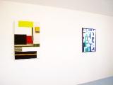 B-Woogie// 70 x 100 cm /2011/  Neues Türkis // 85 x 65 cm / 2011