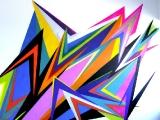 Meta Farbe // Wandmalerei/ Sprayfarbe/ Frappant 02 / Hamburg / 2009