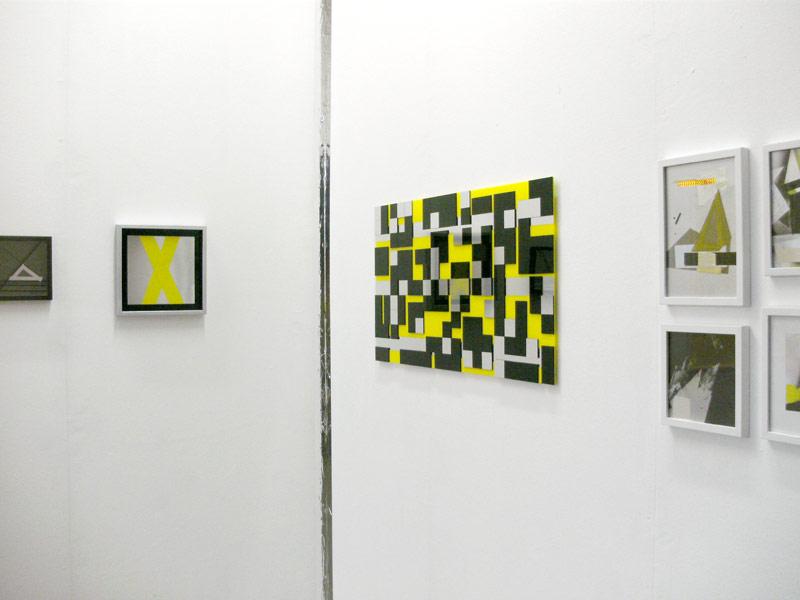 Sandra Poppe - Yellow // Ausstellungsansicht / 2025 e.V. / Hamburg / 2010
