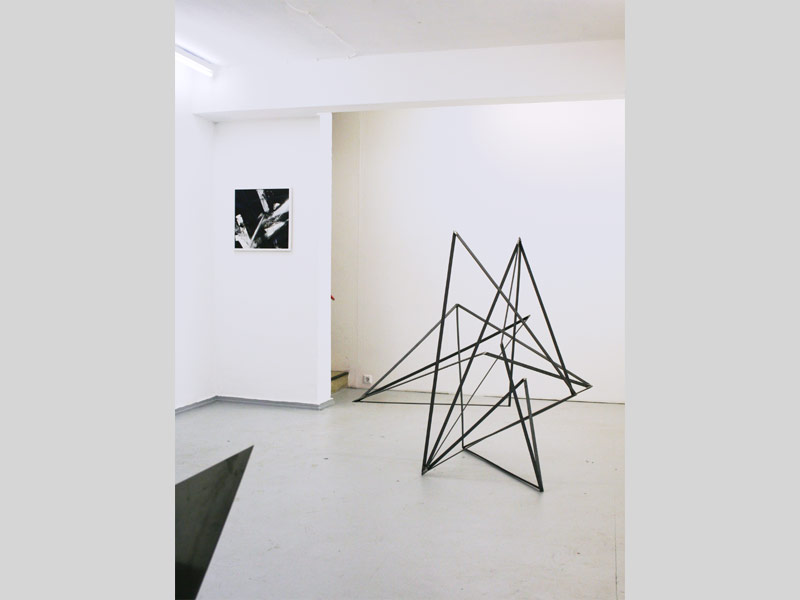Sandra Poppe - Interstellares Objekt I // Stahl / 2010