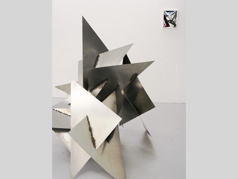 Sandra Poppe - Interstellares Objekt II // Stahl / 2010
