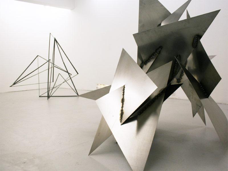 Sandra Poppe - After Dark // Ausstellungsansicht / Galerie Oel-Früh / Hamburg / 2010